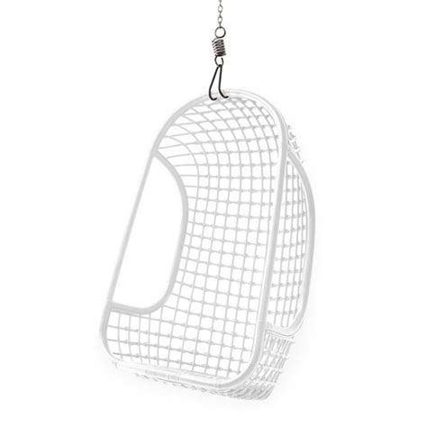 hk living rattan hanging chair white living and co