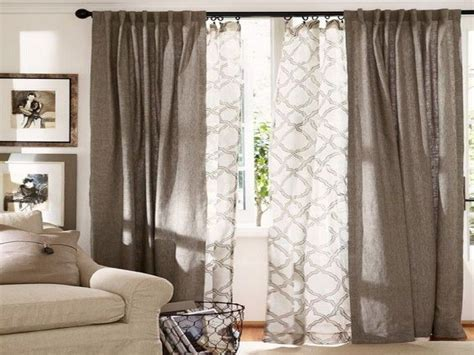 Pottery barn dining room set, double curtains living room