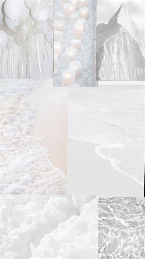 white aesthetic wallpapers