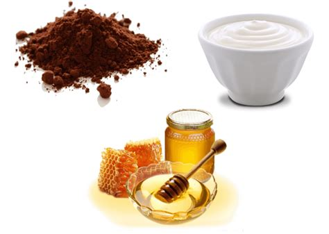 The skin lightening properties of rice flour reduce the intensity of the stubborn acne scars. Homemade Chocolate Face Mask