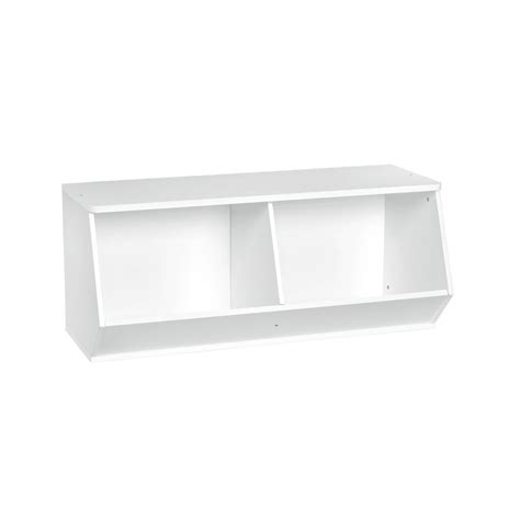Closetmaid Stackable 15 Cube Organizer - closetmaid kidspace 36 in w x 15 in h white stackable
