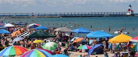 lake michigan beaches visit michigan city laporte