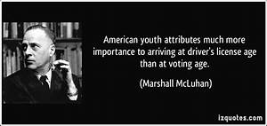 American youth ... Value Of Youth Quotes