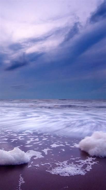 Iphone Dark Seaside Landscape Nature Landscapes Sammobile