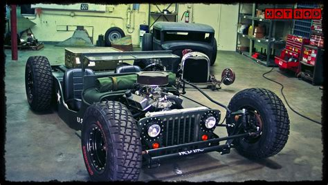 Hot Rod, Car, Jeep Wallpapers Hd / Desktop And Mobile
