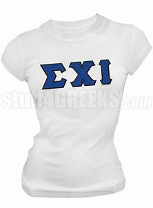 sigma chi iota greek letter screen printed t shirt white With sigma chi letter shirt