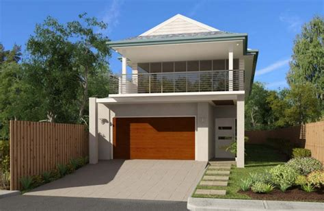 Narrow Block House Designs Brisbane