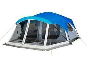 2 Room Tent With Porch by New Embark 9 Person Two Room Cabin Family Cing Tent