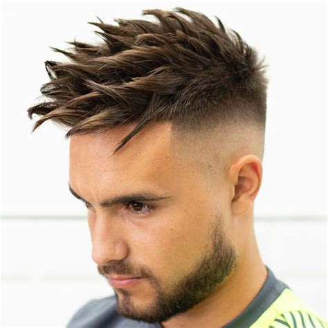 spiky hairstyles  men  guide