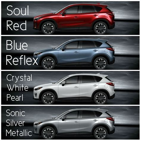 2016 mazda cx 5 exterior color options