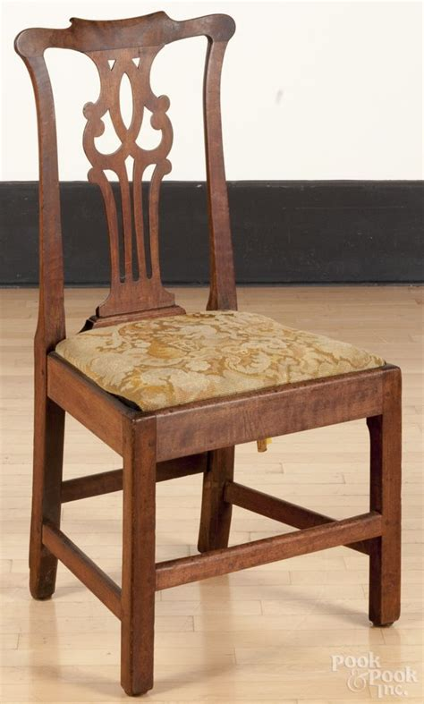 side chair attributed to robert walker king george county
