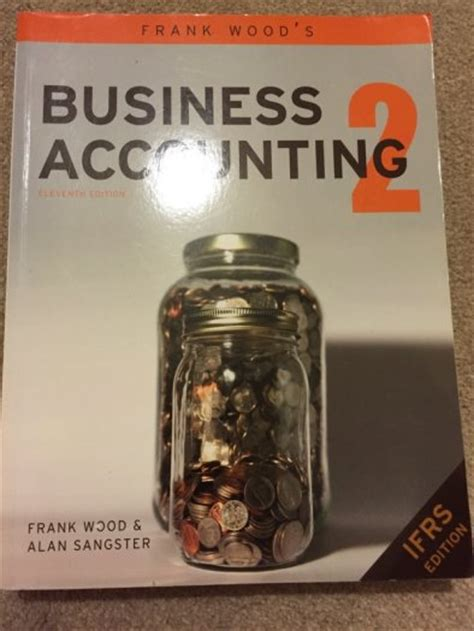 business accounting text book frank woods edition