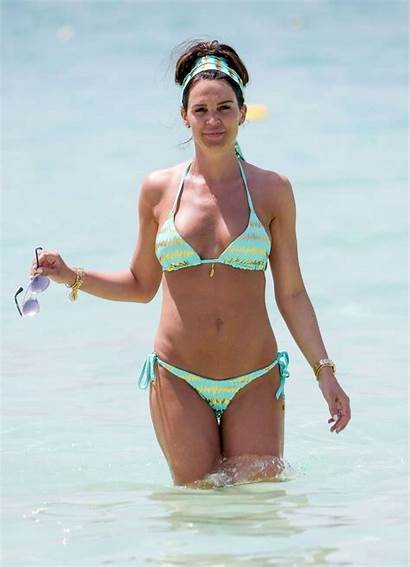 Lloyd Danielle Bikini Beach Spain Nipple Slip