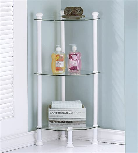 Small Bathroom Etagere by Small Corner Etagere In Bathroom Shelves