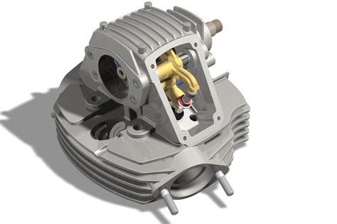 Ducati Desmo Cylinder Head