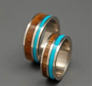 titanium wedding bands reviews wooden wedding rings titanium wedding band koa turquoise