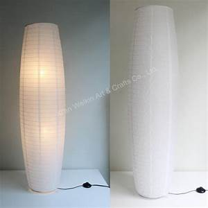 Paper lamphow to make a folded paper lamp custom made for Paper shade floor lamp cheap