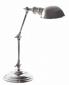 stamford adjustable dome shape desk lamp antique silver With silver dome floor lamp