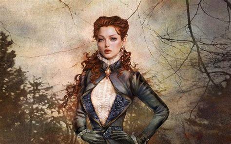 Download Wallpaper 1920x1200 Fantasy Girl Portrait Hd
