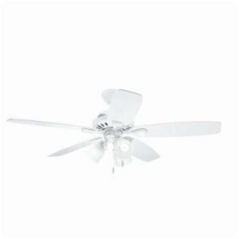 hunter highbury ceiling fan hunter highbury 52 in white indoor ceiling fan 52007