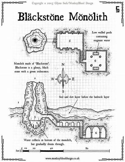Rpg Map Maps Cthulhu Call Fantasy Dnd