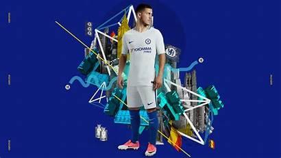 Chelsea Nike Kit Away Hazard Eden Kits