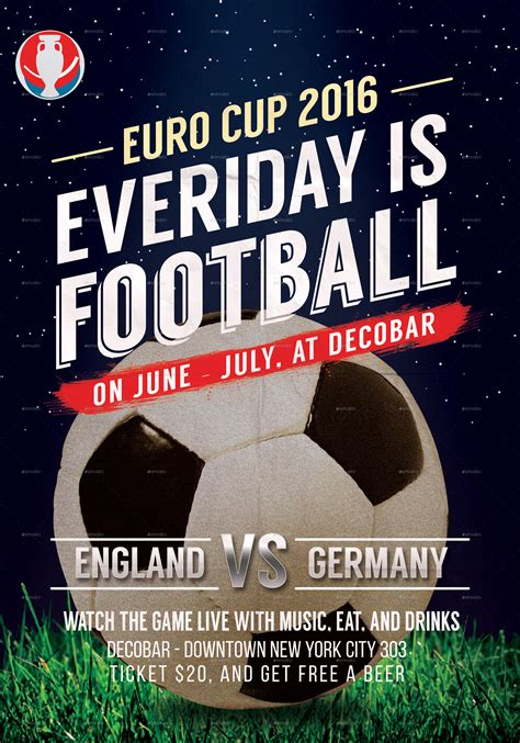 euro football flyer  rockgasm graphicriver