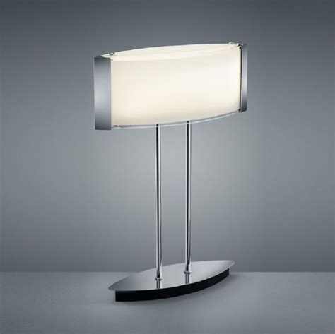 moderne kabellose led tischleuchte moderne led tischleuchte mit satiniertem glas in chrom