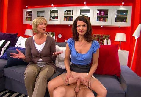 Upskirt frühstücksfernsehen Ina Dietz
