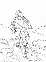 Motocross Cross Coloring Colorear Para Transportation Motos Wild Printable Pages Moto Dibujos Coloriage Kb Dibujo sketch template