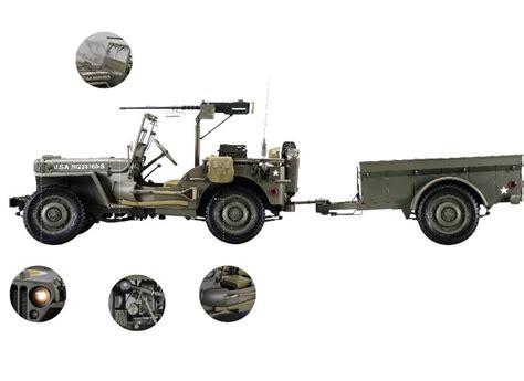 maquette voiture 224 monter au 1 8 d une jeep willys mb de 1941 par hachette collection