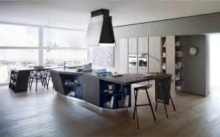 ideen fr wohnzimmereinrichtung 3 offene küche mit theke und essbereich in holzböden für zeitgenössisch moderne küchen design ideen