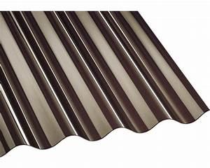 Polycarbonat Wellplatten 3 Mm : polycarbonat wellplatte bronze 76 18 2500x1040mm bei hornbach kaufen ~ Orissabook.com Haus und Dekorationen