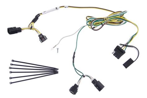 Jeep Trailer Wiring Harnes 2004 by 2004 Jeep Wrangler Curt T Connector Vehicle Wiring Harness