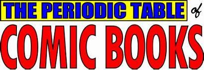 Comic Periodic Table Elements Chemistry Element Comics
