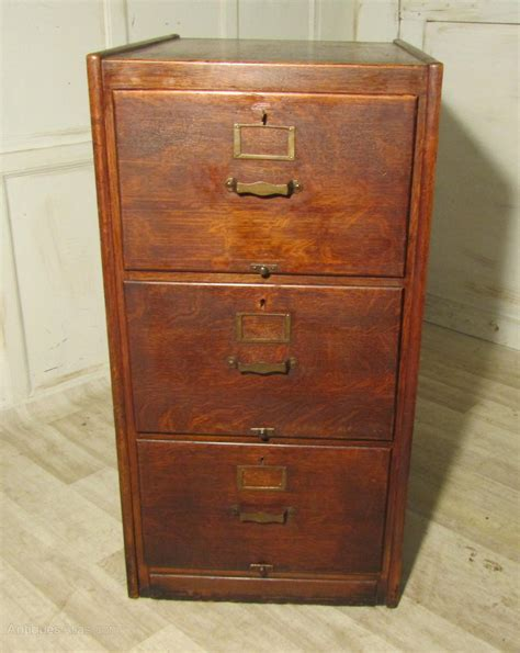 oak file cabinet a large deco 3 drawer oak filing cabinet antiques atlas