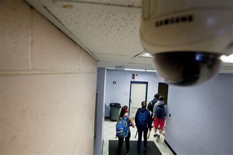 surveillance cameras gain ground  schools education week