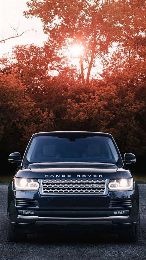 Black Range Rover Iphone Wallpaper by Range Rover Vogue Black Iphone Wallpaper Iphoneswallpapers