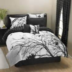 cherry blossom bed set tree bird decorating furniture