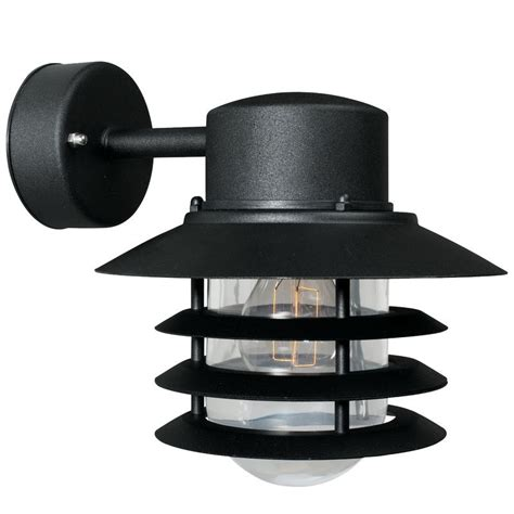 nordlux bulkhead outdoor wall light nordlux vejers down outdoor wall light black