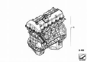 Original Parts For E60 530i N52 Sedan    Engine   Short