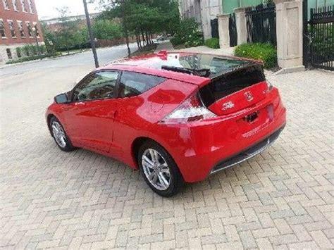 Buy Used 2012 Honda Crz Cr-z Ex Milano Red Hybrid