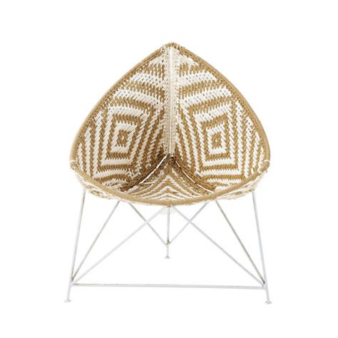 fauteuil tress 233 ethnique diwali maisons du monde