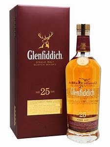 Glenfiddich 25 Year Old - Rare Oak Scotch Whisky : The ...