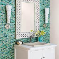 sea glass bathroom ideas small bathroom makeover