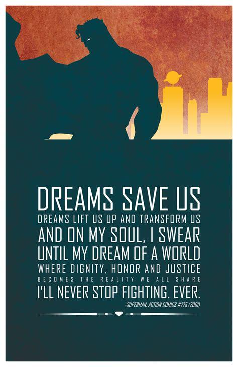 heroic words  wisdom inspirational dc superhero quotes