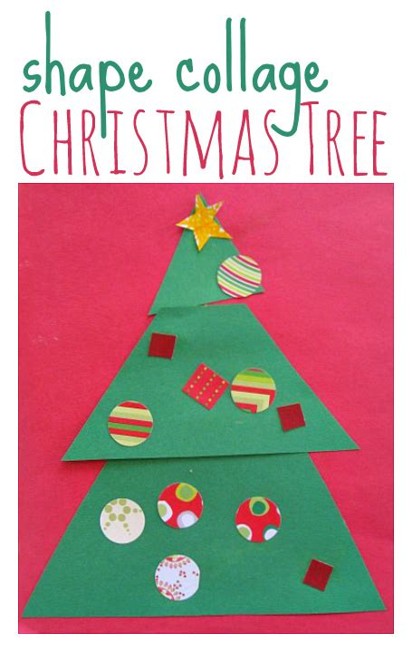 Christmas Tree Craft  No Time For Flash Cards