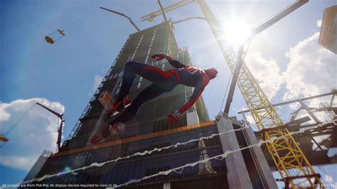 marvels spider man game   year edition game ps