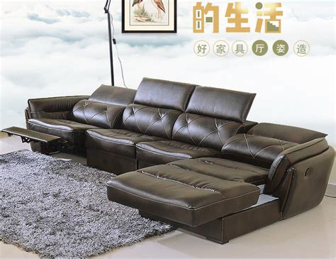 living room sofa set corner sofa recliner electrical