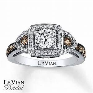 le vian engagement ring 1 3 8 ct tw diamonds 14k vanilla With western wedding rings with real diamonds